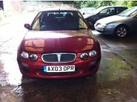 ROVER 25 1.6 STEP AUTO SPARES OR REPAIR DUE TO NO MOT