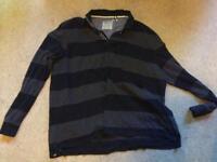 9 men's tops/t-shirts/shirts. Size XXL. Various brands.