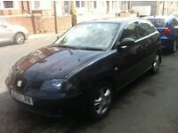 Seat Ibiza 1.2 SX 05. Ideal first car very cheap insurance and cheap on fuel