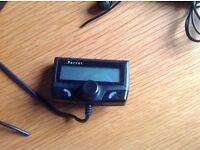 PARROT BLUETOOTH PHONE CAR KIT CK3100 UNIVERSAL PHONEBOOK DISPLAY/ NUMBER RECALL.