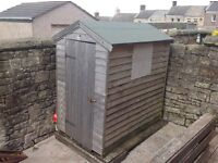 Wooden garden shed 6' x 4'