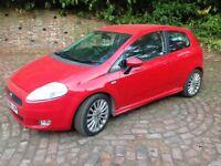 Fiat punto sporting m-jet 2008 mot f.s.h 1.9 diesel 6/speed excellent