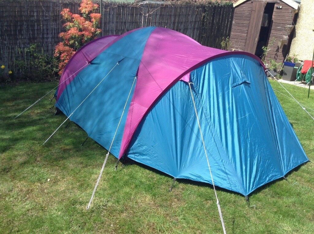 Large tunnel tent