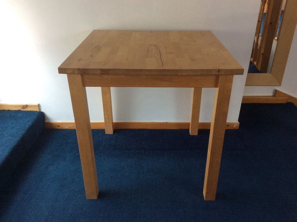 IKEA Bjorkudden Small Dining Table in Smithdown Road Merseyside