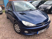 Peugeot 206 1.4 HDi Look 5dr hip clear 3 month engine and gearbox warranty