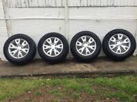 Ford Ranger 18inch alloy wheels