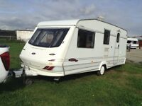 Ellis caravan 18 ft. 1998. 4. Bert. 1650. Romford Essex