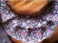 2 Large Spare Double Cushions for Sofa or Chair Suitable for a Dog Bed / Can Deliver