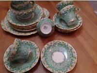Bone china tea service