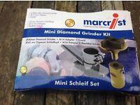 Mini diamond grinder kit