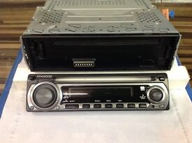 KENWOOD CAR RADIO CD PLAYER FACE OFF