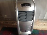 Electric heater / cooler, portable