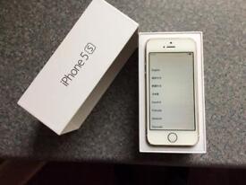 iPhone 5s 16gb gold O2/Tesco/GiffGaff