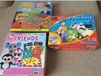 Bundle of children's games in good used condition