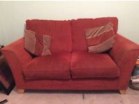Sofa w-175,d-90,h-96 and matching chair £80.