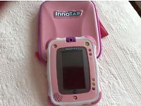 Pink Innotab 2 and carry case
