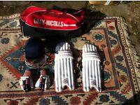 Gray Nicholls cricket kit for 10-12 year old boy
