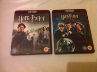 Harry potter dvd's like new collection only