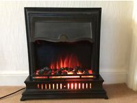 Free standing Victorian style 2kw electric fire.
