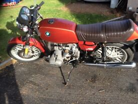 BMW Motorcycle R 45 boxer 1979