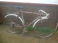 Vintage Bill Cuss Road Bike 10 Speed