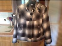 RED HERING jacket size 18 clean & immaculate. Great for uni/work/party season/dog walks..NOW REDUCED