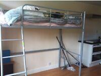 Bunk single bed (foam mattress included)