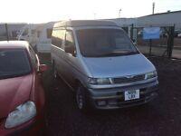 Mazda bongo caper van lift roof auto mot ready to go