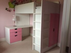 Girl ikea bed
