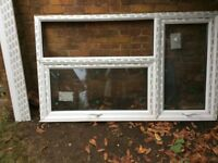Window: White PVC Double Glazed with separate Sill : FREE