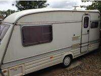 Elddis Count 2 berth caravan 1993