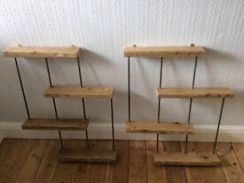 Retro Shelves x 2 units