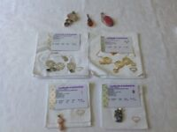 sterling silver necklaces (two) and pendants (five)