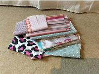 Bundle of fabric offcuts
