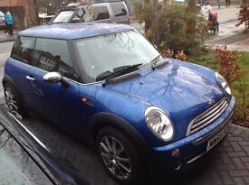 Great condition mini one new brakes and clutch 55 reg 2005