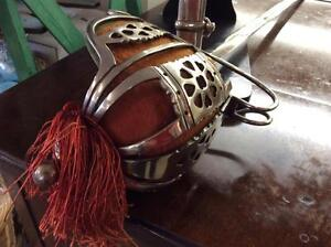 Replica Basket-Hilted Broad Sword With Scabbard