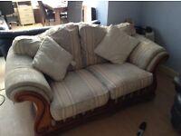 Laura Ashley inspired regal sofa - gorgeous