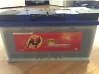 100 amp leisure battery designed for use with movers