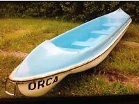 14'Steeple open top Canoe