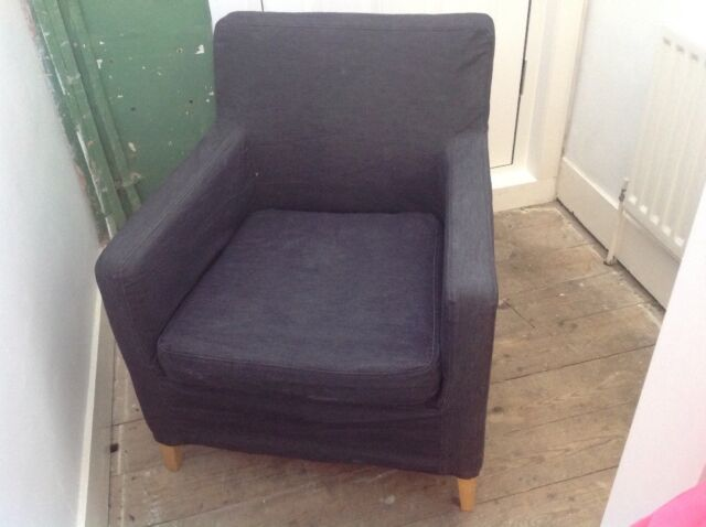 Swell Deep Single Sofa Chair Karlstad In Colliers Wood London Gumtree Unemploymentrelief Wooden Chair Designs For Living Room Unemploymentrelieforg