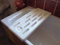 Bath seat for over the bath