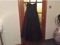 DUPION SILK EVENING DRESS size 10/12
