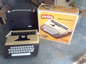 Vintage petite typewriter