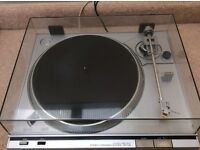 Sony PS-T22 Direct drive turntable with new Audio Technica cartridge