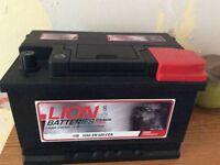 Car/van battery