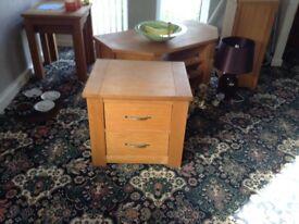 Next Cambridge Oak set of Drawers