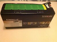 Lexmark ink cartridge E360H11E, E360, E460, E462.