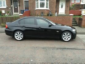 2006 bmw 3series full black leather