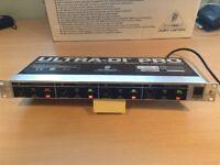 Behringer Ultra DI Pro - 4 Channel Active DI box (1u)