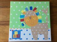 2x animal canvas prints